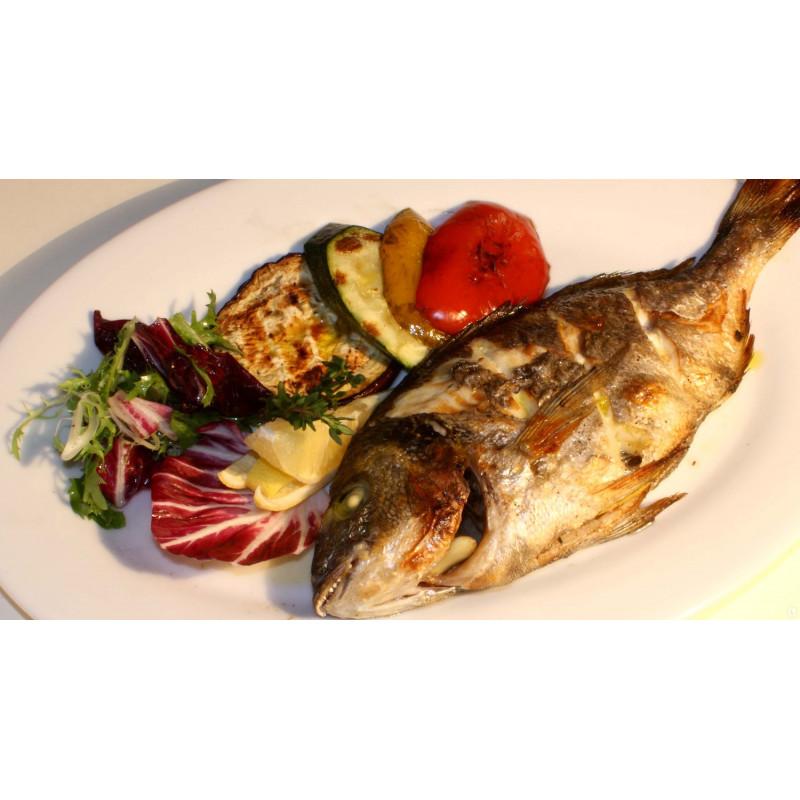 Рыба запеченная целиком Кижучь