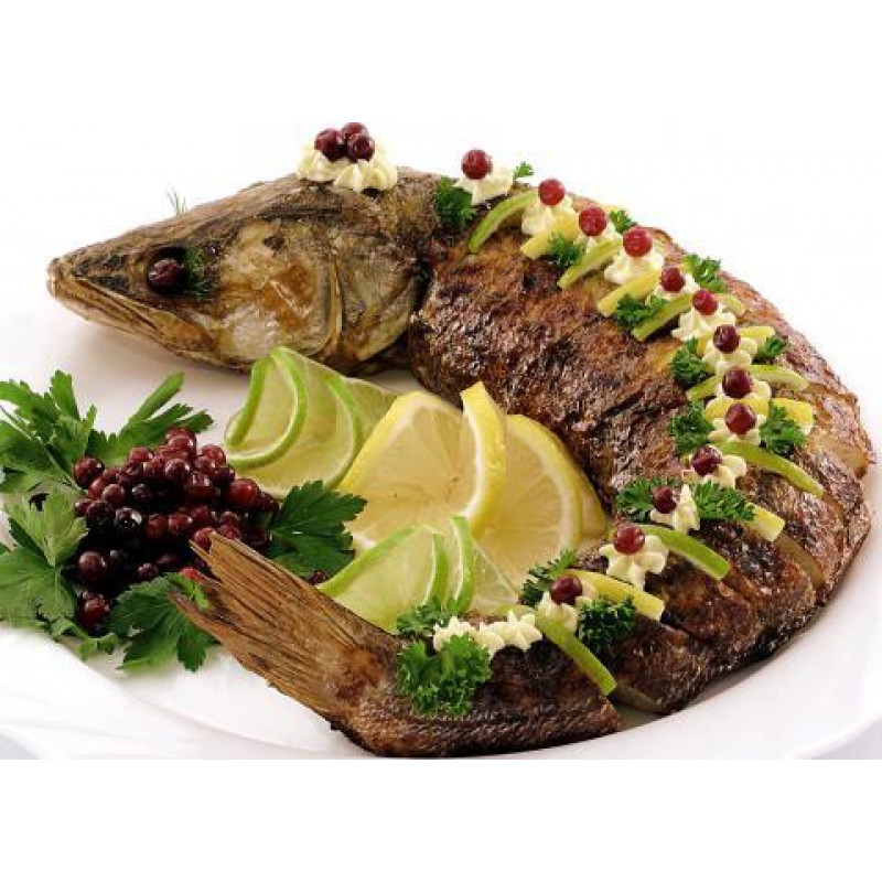 Рыба фаршированная Судак