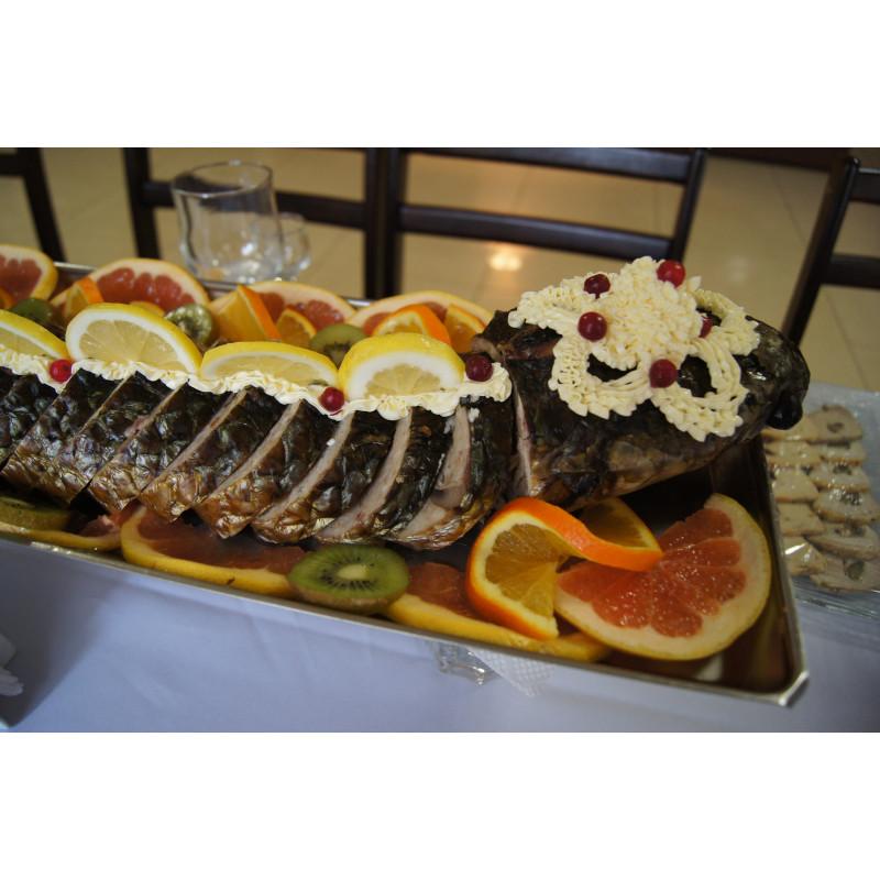 Рыба запеченная целиком Пеленгас