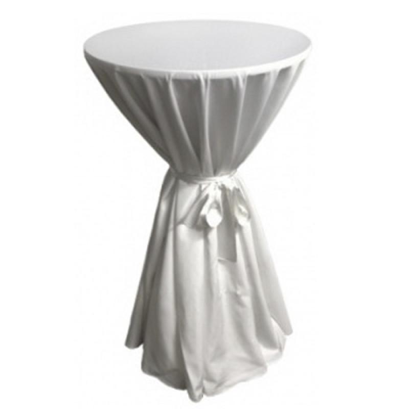 Стол коктейльный с текстилем