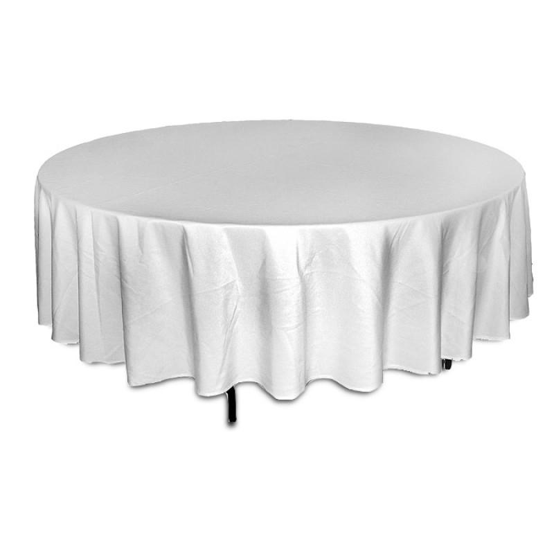 Банкетный стол круглый с текстилем